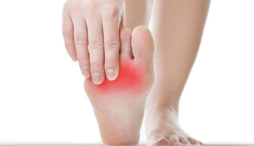 כאבים בכף הרגל – כף רגל בוערת